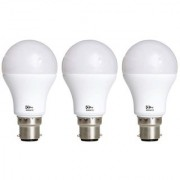 Alpha 9 Watt 700 - Lumens Premium Led Bulb (Pack of 3)