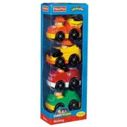 Toy / Game Fisher Price Little People Wheelies All About Working W/ Kid Sized Vehicles Fit Perfectly For Kids