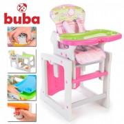 Столче за хранене Buba Tiesto, розово