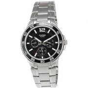 Casio Enticer Black Dial Mens Watch - Mtp-1300D-1Avdf (A483)