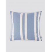 TOM TAILOR Kussenhoes met Stripe Print, blue-white, 45/45