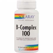 Vitamina B Complex Solaray 100 mg 50 capsule vegetale