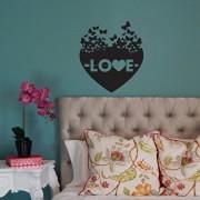 Sticker decorativ de perete Sticky, 260CKY5064, Negru