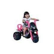 Moto Elétrica Infantil Fox G-force Teen Monstros Preto/rosa