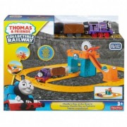 Tren Thomas & Friends Collectible Railway Charlie's Day at the Quarry FBC59