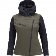 Peak Performance Women Jacket Scoot forest night