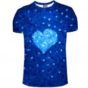 Mr. Gugu & Miss Go Glass Heart Unisex Short Sleeved T Shirt TSH730