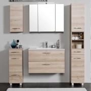 Badezimmer Kombination in Buche Made in Germany (5-teilig)
