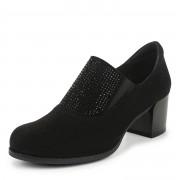 234-147A-26102 Туфли женские и.велюр/текстиль черн, Bridget - 36