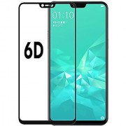 Vinimox 6d tempered glass for Oppo realme 2 (black)