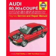 Audi Haynes Werkplaatshandboek Audi 80 90 &: Coupe benzine (1986-1990)