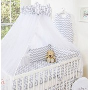 My Sweet Baby 3-Delig Bedset Chevron Grey
