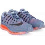 Nike AIR MAX 2016 Running Shoes(Blue, Black)