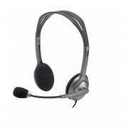 Auriculares Logitech C/ Microfono Miniplug H111 Gtia Of Fact