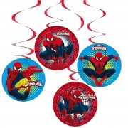 4 spirale decorative Spiderman