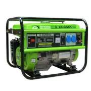 Generator portabil de curent electric monofazat, motor benzina, 5.5KW, Greenfield G-EC6500