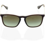 Ray-Ban Retro Square Sunglasses(Brown)
