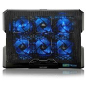 Multilaser Cooler para Notebook com 6 fans LED Azul Hexa Cooler - AC282 AC282