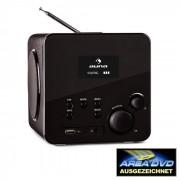 Auna Radio Gaga radio internet wifi receptor de radio por internet DAB USB negro (KC3-Radio-Gaga-BK)