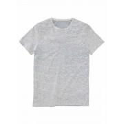 HEMA Heren T-shirt Biologisch Katoen Lichtgrijs (lichtgrijs)