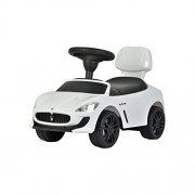 Evezo Maserati GranCabrio MC Ride-On Push Car, White