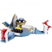 Детска играчка, Hot Wheels - Игрален комплект Aкулата, с 2 големи бъгита Monster, 1720073