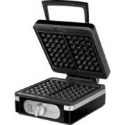 Aparat waffle MPM Belgian Waffle Maker MGO-24, 2 Felii, 1400 W, Temperatura Ajustabila