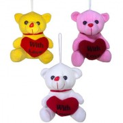 Caris Soft Giant Hug Teddy Bear with Love Teddy102 Set of 3