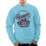Cloud City 7 Dess okej Bayside hög Tiger stolthet Sparad av Bell herrarnas Sweatshirt Himmelsblå XX-Large