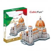 CubicFun Catedrala Santa Maria del Fiore Italia Puzzle 3D 123 de piese