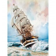 Puzzle 1000 Piezas Barco Amerigo Vespucci - Clementoni