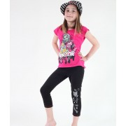 tricou cu tematică de film bărbați copii Monster High - Monster High - TV MANIA - MOH 536