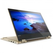 "Лаптоп Lenovo Yoga 520-14IKB 14"" FHD Touch, Active Pen, Metallic Gold"