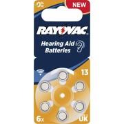 Baterii proteze auditive Rayovac Acoustic HA13, 6 buc.