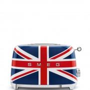SMEG - 2 Schlitz-Toaster Union Jack Serie 50 Jahre