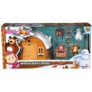 Simba Toys Masha si Ursul Casa De Iarna a Ursului