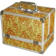 Pride Unique to store cosmetics Vanity Box (Yellow)