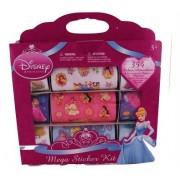 Disney Princess Mega Sticker Kit - 354 Colorful Stickers