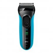 Aparat de barbierit Braun 3045s, Wet&Dry, Ni-MH, Aut. 45 de min, Negru/Albastru