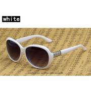 Ochelari de soare cu rama alba Sunglasses