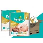 Pampers pelene Premium Care velikosti 1 i 2, 168 komada