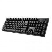 Gigabyte Teclado Gamer Gigabyte FORCE K81, MX Red, Negro, FORCE K81