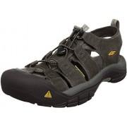 KEEN Men's Newport Sandal, Neutral Gray/Gargoyle, 11 M US