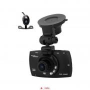 Camera Auto Full HD cu Camera Marsarier + Tripla Auto USB, Card MicroSD 32GB