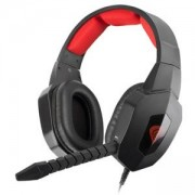 Слушалки с микрофон Genesis H59 Gaming Headset Black-Red, NSG-0687