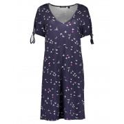 Da Kleid, V-Ausschnitt-Nightblue Orig-38