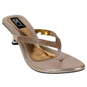 Dicy Comfort Women'S Heels With Stylish Look New Latest Fashionable Comfortable To Wear With Attractive Look For Party Or Carry In Daily Life (39, Gold)