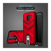 Funda Case Para Samsung A8 Plus Uso Rudo Heavy Duty - Rojo