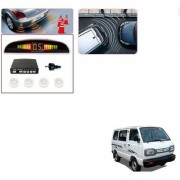 Auto Addict Car White Reverse Parking Sensor With LED Display For Maruti Suzuki Omni