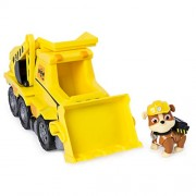 Paw Patrol Ultimate Rescue, Rubbleâ€s Ultimate Rescue Bulldozer with Moving Scoop & Lift-Up Dump Bed, For Ages 3 & Up